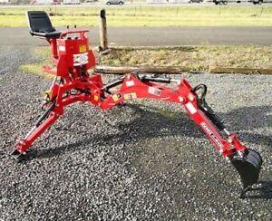 5' Dig Sub-Compact Tractor Backhoe w/Tank,Pump,Filter Cat.I 18-24 HP (VL-BHM5)