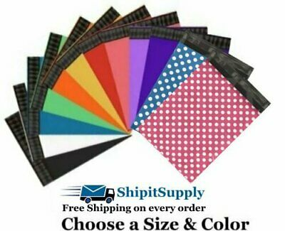 Choose Black Blue Green Pink Purple Red White Yellow Polka Colored Poly (Violet Yellow)