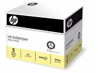 HP Everyday A4 Multifunctional Paper 75gsm - 1 Box of 2 Reams (Pack of 2)