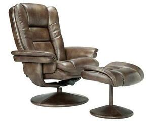 leather recliner chair ebay