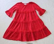 Hanna Andersson Girls Dress 120