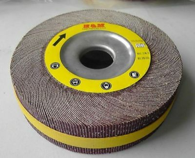 10pcs 8 Inch Flap Sanding Wheels 8 X 1 X 1 Ao 40 Grit Unmounted
