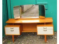 G Plan Gomme Dressing Table Mid Century 1960s Retro Vintage Dresser Teak