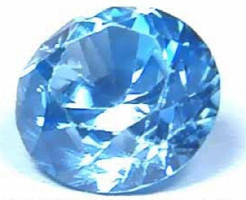 Beautiful, Brilliant, Super Blue Zircon!