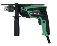 "HITACHI  5/8"" Hammer Drill VSR, 2-mode, 5.0 Amp - NEW"