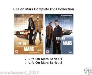 LIFE ON MARS COMPLETE SERIES 1 + 2 DVD BOX SET Brand New and Sealed UK Release