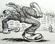 R Crumb Signed