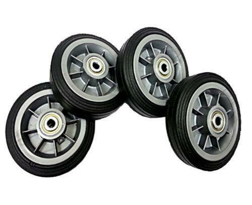 6 Plastic Wheels Ebay
