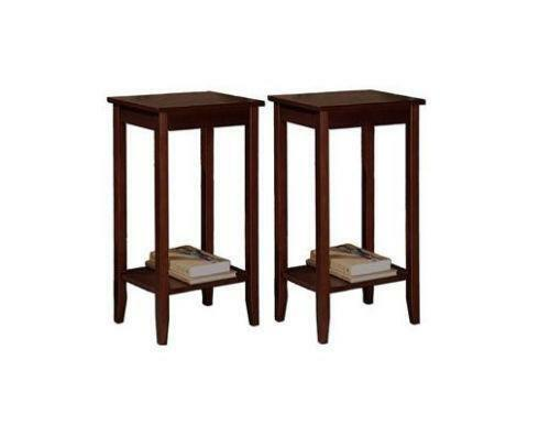 Tall Small Side Table: Tall Accent Table