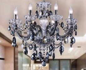 Contemporary Original K9 Crystal Chandelier Ceiling Light Pendant Lamp RRP £400