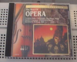CD - The best of Opera Québec City Québec image 1