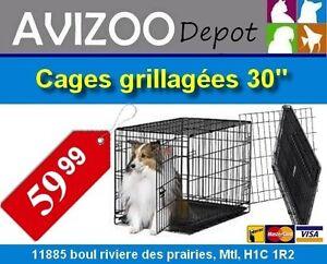 CAGE POUR CHIENS NEUVE 30X19X21 - 59.99$