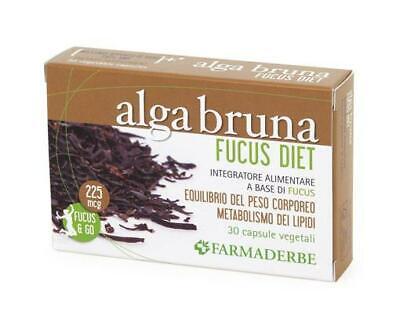 Alga Morena Fucus Dieta - Farmaderbe - 30 Cps