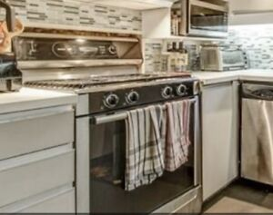 Stainless Bosch Gas Stovetop/Oven