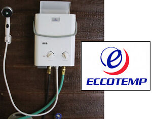NEW  Eccotemp L5 Portable Tankless Water Heater & Outdoor Shower