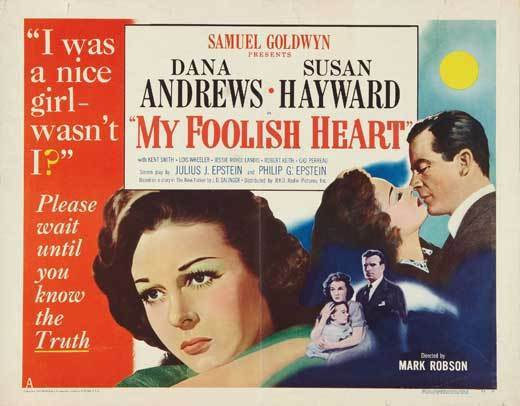 MY FOOLISH HEART Movie POSTER 22x28 Half Sheet B