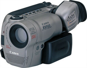 Mint Canon ES950 8mm Camcorder,20XZoom,AF AE,extra,Transfer,warr
