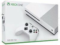 Xbox ONE S 500 GB like NEW BOXED condition spotless from southall ub2 area