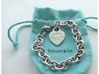 Tiffany and co heart bracelet