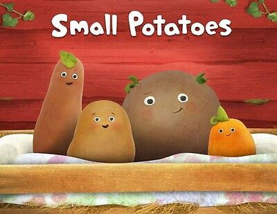 Small Potatoes fridge magnet