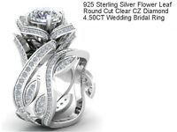 Diamond 4.50 CT Wedding Bridal Ring