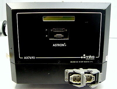 Mks Astron P Ax7690 Remote Plasma Source Generator Power Supply