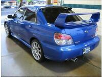 Subaru impreza wrx sti spoiler
