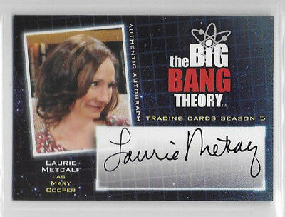 Laurie Metcalf as Mary Cooper BIG BANG THEORY Season 5 Auto Autograph A20
