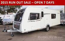 E50096 Australian Edition Elddis Affinity 574, Low Tare Weight Penrith Penrith Area Preview
