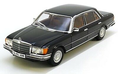 - REVELL MERCEDES 450SEL 6.9 W116 1:18 Black Color!*Almost Sold Out*Last Pcs Left!
