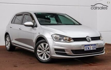 2015 Volkswagen Golf VII MY15 90TSI DSG Comfortline Silver 7 Speed Sports Automatic Dual Clutch