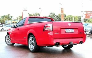 2009 Holden Ute VE MY09.5 SS V Red 6 Speed Sports Automatic Utility Wangara Wanneroo Area Preview