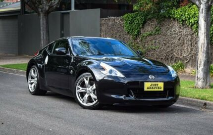 2010 Nissan 370Z Z34 Black 7 Speed Sports Automatic Coupe Medindie Walkerville Area Preview