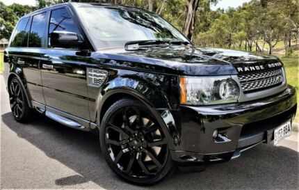 2011 Land Rover Range Rover Sport L320 11MY Super Charged Black 6 Speed Sports Automatic Wagon
