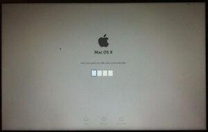 Apple MacBook EFI 4or 6-digit PIN Passcode iCloud Unlock Removal