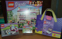 Lot de 4 Lego Friends Olivia's house New and Sealed