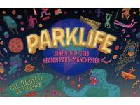 One Parklife Ticket - Saturday 09/06/18 - General Admission