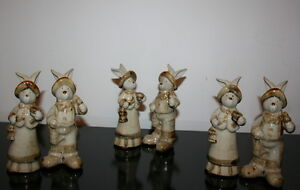 Ceramic Easter Rabbits $1.50 a pair