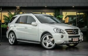 2010 Mercedes-Benz M-Class W164 MY10 ML300 CDI BlueEFFICIENCY White 7 Speed Sports Automatic Wagon Bowen Hills Brisbane North East Preview