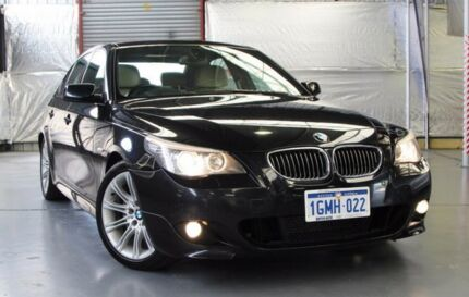 2008 BMW 530D E60 MY08 Steptronic Carbon Schwarz 6 Speed Sports Automatic Sedan Myaree Melville Area Preview