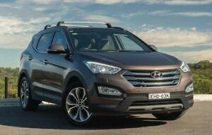 2015 Hyundai Santa Fe DM3 MY16 Highlander Brown 6 Speed Sports Automatic Wagon Somersby Gosford Area Preview