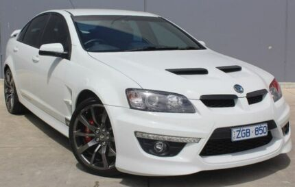 2012 Holden Special Vehicles Clubsport E Series 3 MY12 R8 White 6 Speed Sports Automatic Sedan