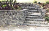 Retaining Walls+Pillars+Raised Garden Beds+Curbs+ Veneer& Stone