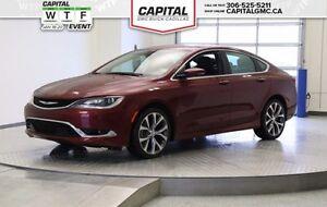 2016 Chrysler 200 C *Heated Seats - Navigation - Satellite Radio Regina Regina Area image 1