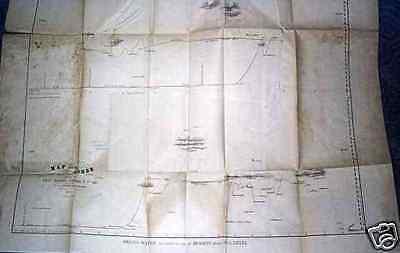 Map Of The  Andes by Lt Lardner Gibbon 1851