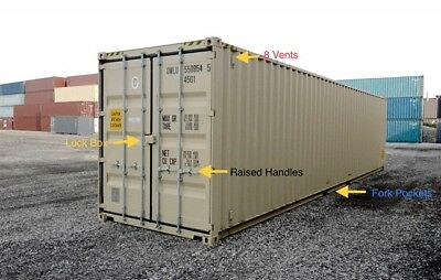 40ft High Cube New One-trip Shipping Storage Container New York Ny