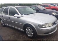 2001 Vauxhall Vectra 2.2 full service history, Estate 101k £450