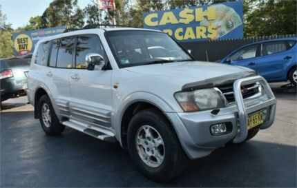 2001 Mitsubishi Pajero NM GLS White Sports Automatic Wagon Campbelltown Campbelltown Area Preview