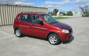 2001 Suzuki Ignis RG413 GL Red Metallic 4 Speed Automatic Hatchback Epping Whittlesea Area Preview
