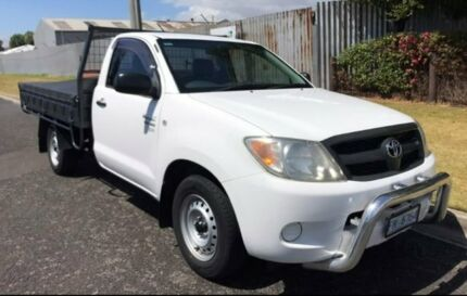 2007 Toyota Hilux GGN15R MY07 SR 4x2 White 5 Speed Manual Utility Launceston Launceston Area Preview